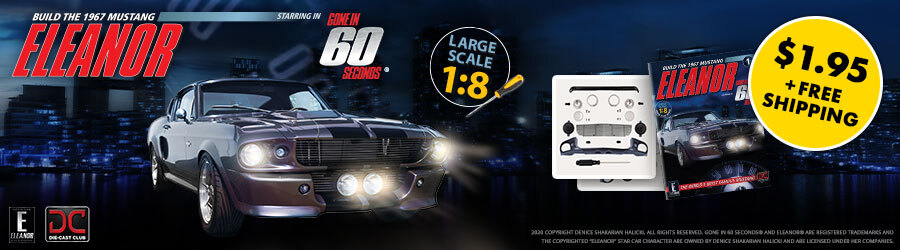 Eaglemoss Mustang Eleanor 900x250