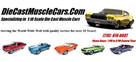 Diecast Muscle Cars 275x125
