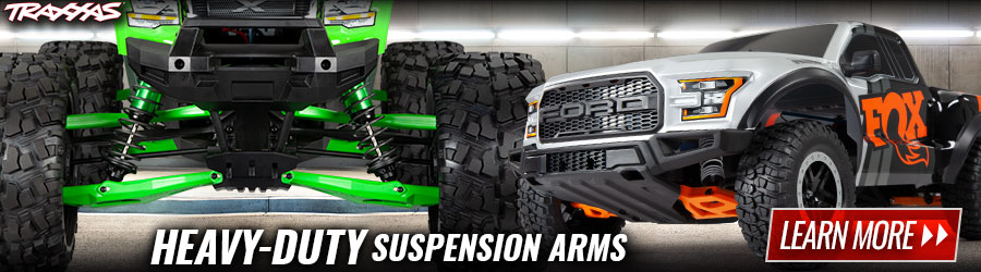 Traxxas HD Suspension Arms 900x250
