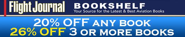 Flight Journal Bookshelf 600x120